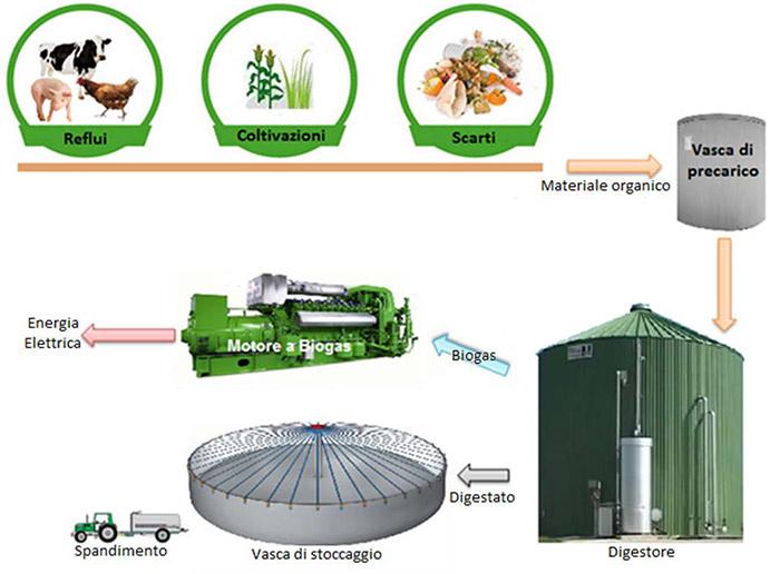 Biogas schema